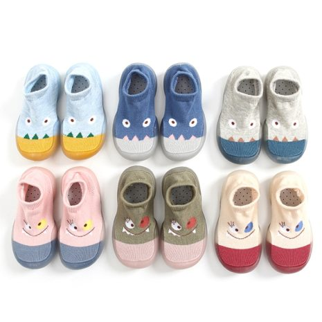 A Pair Of Cute Baby Girl Boy Children Shoes Breathable Non Slip Socks Shoes Soft Comfortable