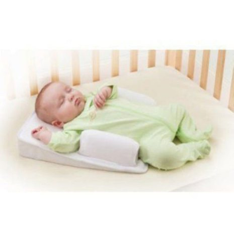 Baby Care Infant Newborn Anti Roll Pillow U ltimate Vent Sleep Fixed Positioner Prevent Flat Head 1