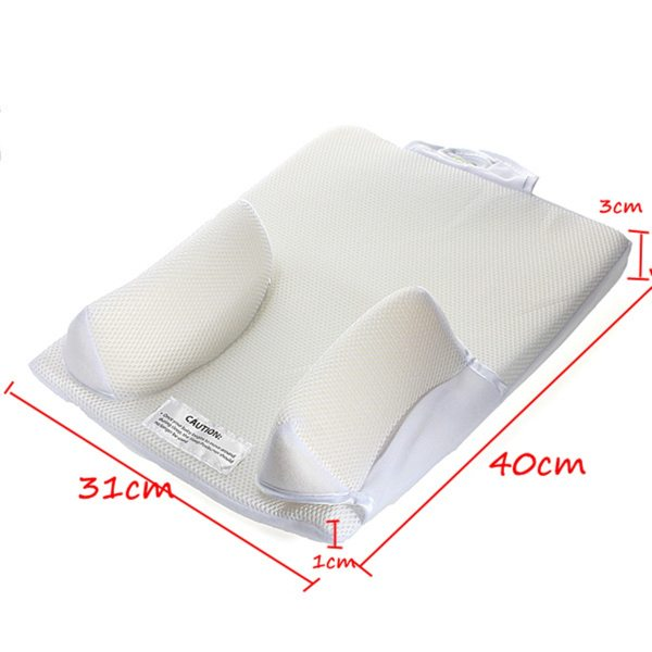 Baby Care Infant Newborn Anti Roll Pillow U ltimate Vent Sleep Fixed Positioner Prevent Flat Head 4