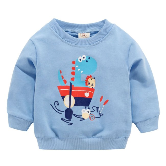 Baby Girls T shirts For 0 2 Years Newborn Kids Shirt Cotton Baby Boys Clothes Autumn 5
