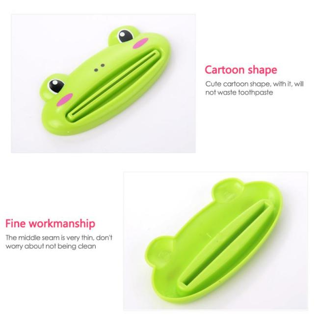 Cute Toothpaste Dispenser Holder Kid Toothpaste Animal Tooth Paste Tube Squeezer Rolling Home Bathroom Supplies Baby 5