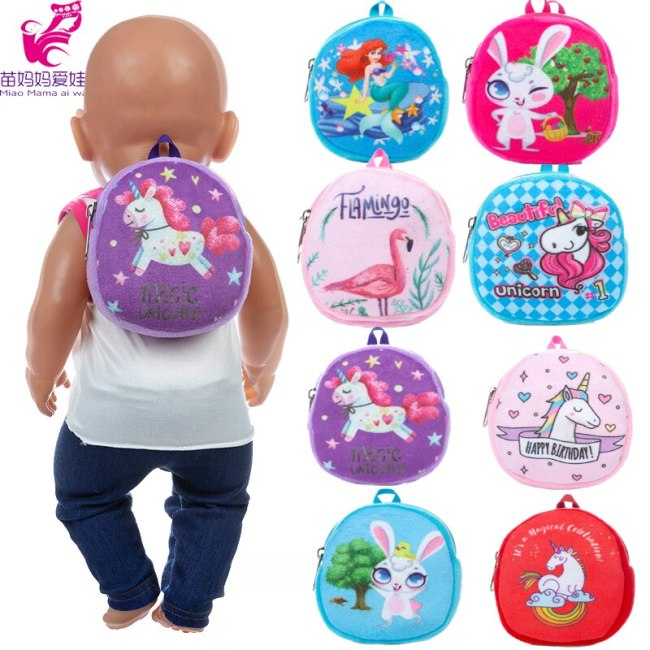 Dolls Out Going Carry Bag Sleeping Bag Doll Accessory for 43cm Baby New Born Doll 18 5