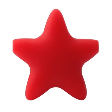 Keep grow Stars Silicone Beads 12Colors Baby Teethers Food Grade Baby Teething Toys For Pacifier Chain 3