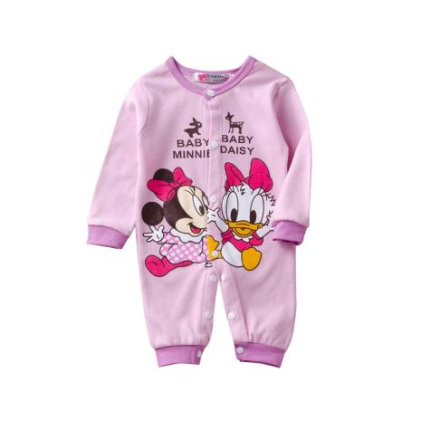 Mickey Baby Rompers Baby Boy Clothing Minnie Baby Girls Clothes Disney Kids Outfits New Fashion Infant 5