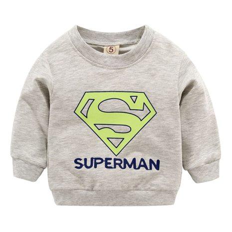 New Baby Boys Girls Sweatshirts Autumn Spring Cartoon Cotton Hoodies Tops Children Kids Long Sleeve T 5