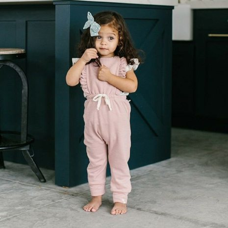 Newborn Baby Girl Boy Backless Striped Ruffle Romper Overalls Jumpsuit Clothes Onesies kid clothing toddler clothes 2