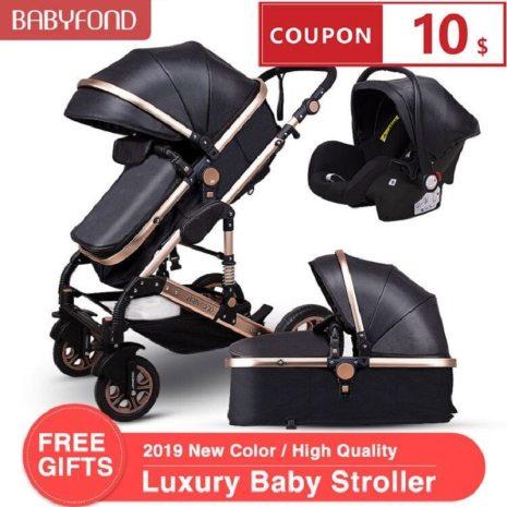 Normal ship 3 in 1 baby strollers and sleeping basket newborn 2 in 1 baby stroller