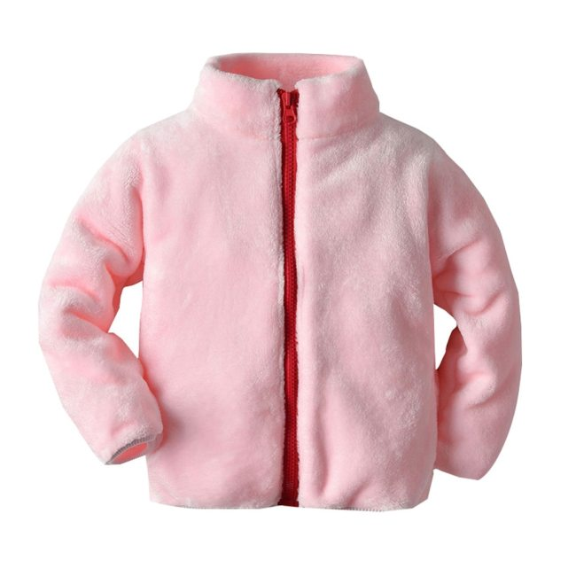 Toddler Baby Girls Coat baby boy Fashion Long Sleeve Winter Solid Windproof Children jackets Warm winter 1