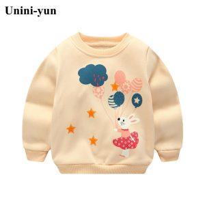 Unini yun 2017 Boys T shirt Kids Autumn Jackets T shirt Baby Boy Clothes Camiseta Roupas