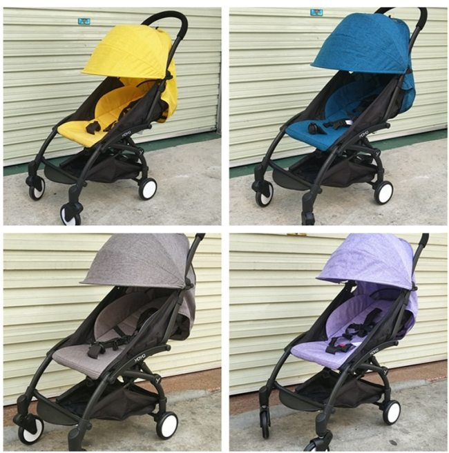 Yoyaplus Original Stroller Lightweight 175 degree Folding Stroller Ultra light Portable Traveling Carros De Bebe for 4