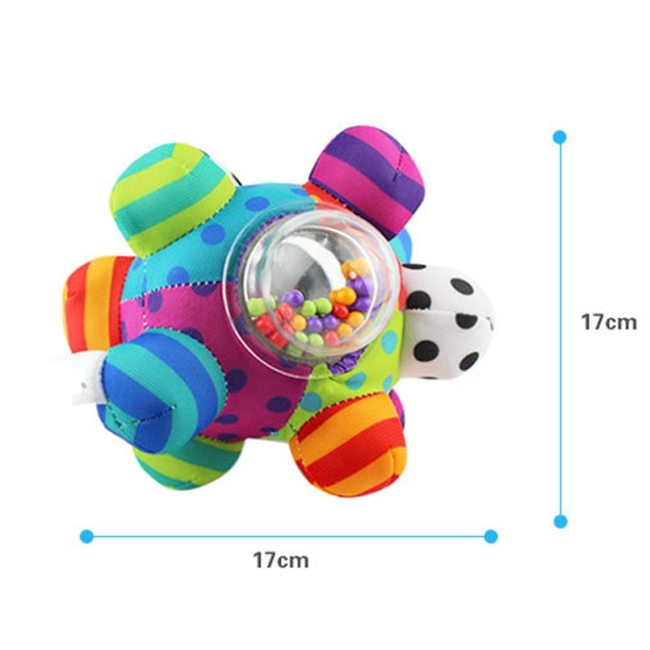 Baby Toys Fun Little Loud Bell Baby Ball Rattles Toy Develop Baby Intelligence Grasping Toy HandBell 1