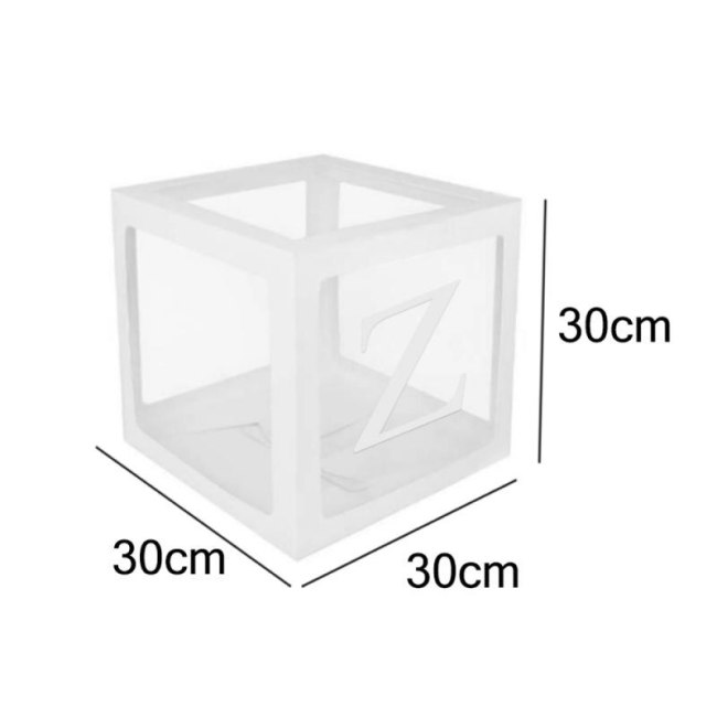 Letter A Z Cube Transparent Gift Boxes Kid Birthday Baby Shower Party Home Decor Wedding Favor 4