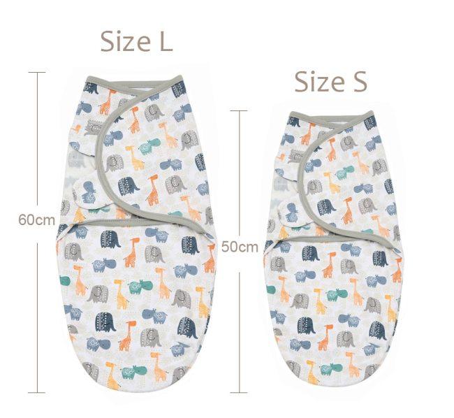 Newborn Baby Swaddle Wrap Parisarc 100 Cotton Soft Infant Newborn Baby Products Blanket Swaddling Wrap Blanket 2