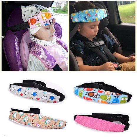 Infant Baby Car Seat Head Support Children Belt Fastening Belt Adjustable Boy Girl Playpens Sleep Positioner 1