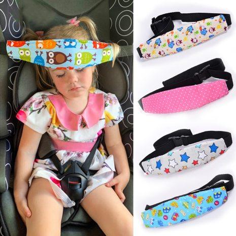 Infant Baby Car Seat Head Support Children Belt Fastening Belt Adjustable Boy Girl Playpens Sleep Positioner