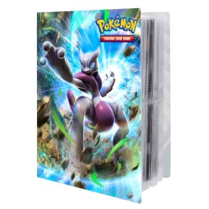 NEW 240pcs Characters Card Collection Notebook Game Card Playing Album Pokemones Cards Holder Novelty Gift For 1