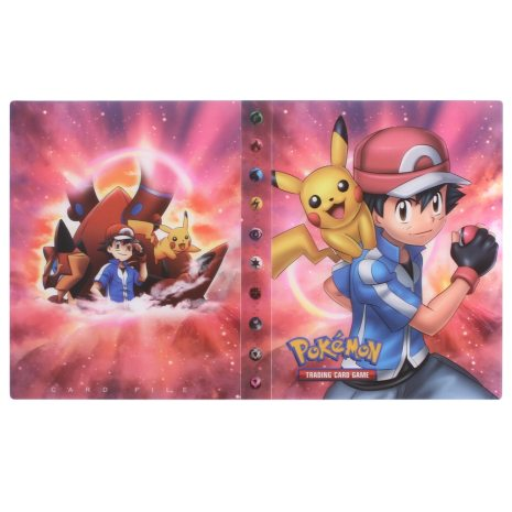 NEW 240pcs Characters Card Collection Notebook Game Card Playing Album Pokemones Cards Holder Novelty Gift For 3