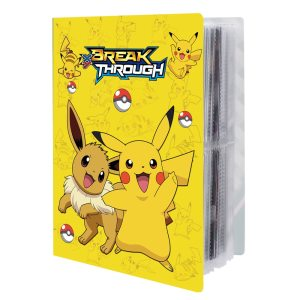 NEW 240pcs Characters Card Collection Notebook Game Card Playing Album Pokemones Cards Holder Novelty Gift For