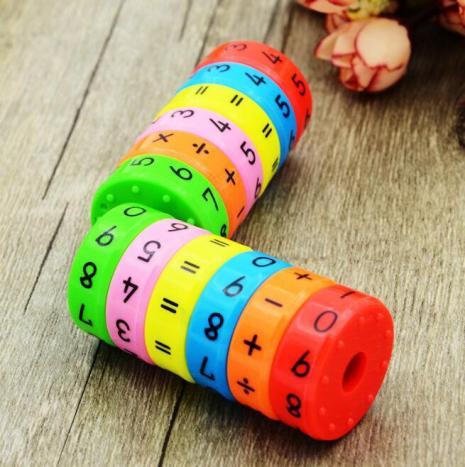 Toddler Educational Montessori Toys Learning Creative Arithmetic Teaching Plus Subtract Interesting Math Toy For Children Kids 4