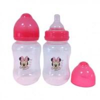 Disney Minnie Mouse Wide Neck Baby Bottle x2 - Babitoudou