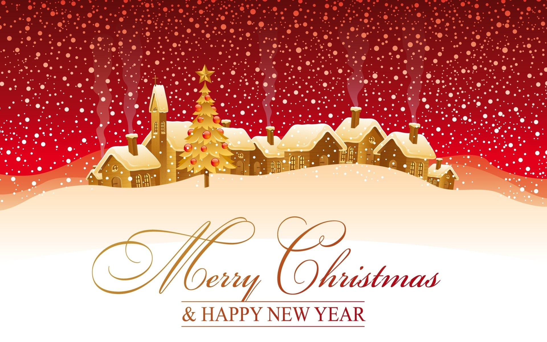Image result for merry christmas and happy new year card 2013