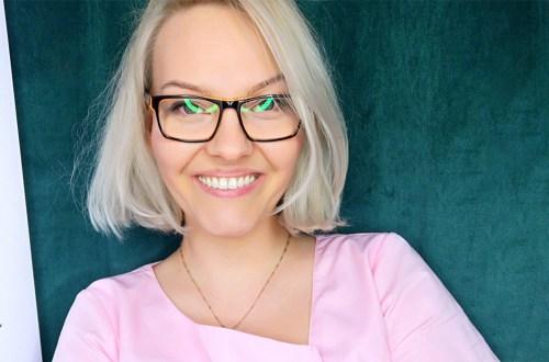 Katarzyna Pragłowska - właścicielka salonu kosmetycznego Vegabinet