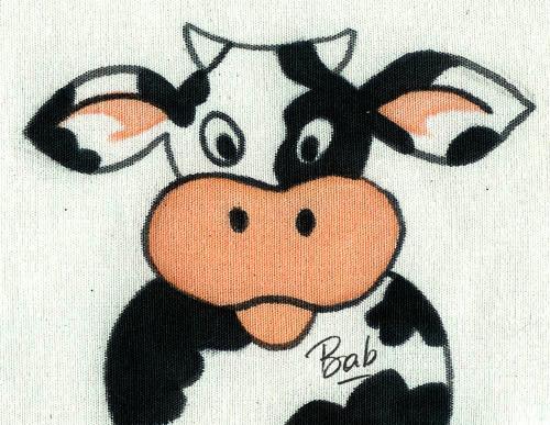 vache-tissu