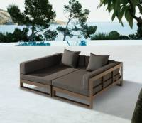 Outdoor Sofa Bed Love The Use Of Timber In This Outdoor ...