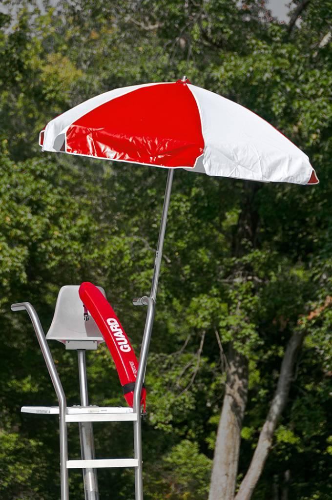 Lifeguard Steel Umbrella  Patio Umbrellas  Babmarcom
