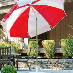 Sofa Replacement Cushion Covers Simple Table Plans Laurel Steel Patio Umbrella   Residential And Commercial ...