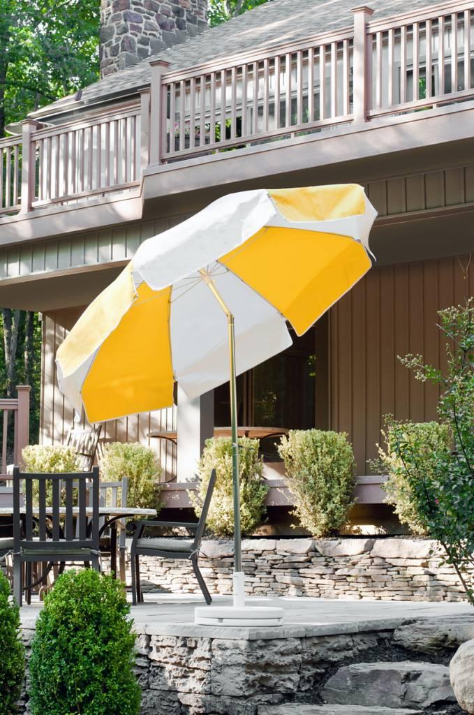 Laurel Steel Patio Umbrella  Residential and Commercial