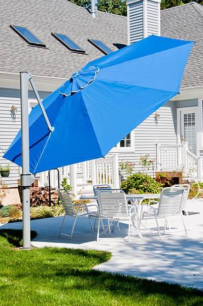 acrylic side chair with cushion high target eclipse cantilever square umbrella | commercial patio umbrellas babmar.com