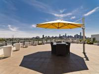 Eclipse Cantilever Square Umbrella | Commercial Patio ...