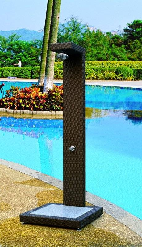 sofa box cushion covers eq3 reverie review piscine outdoor shower | bar set babmar.com