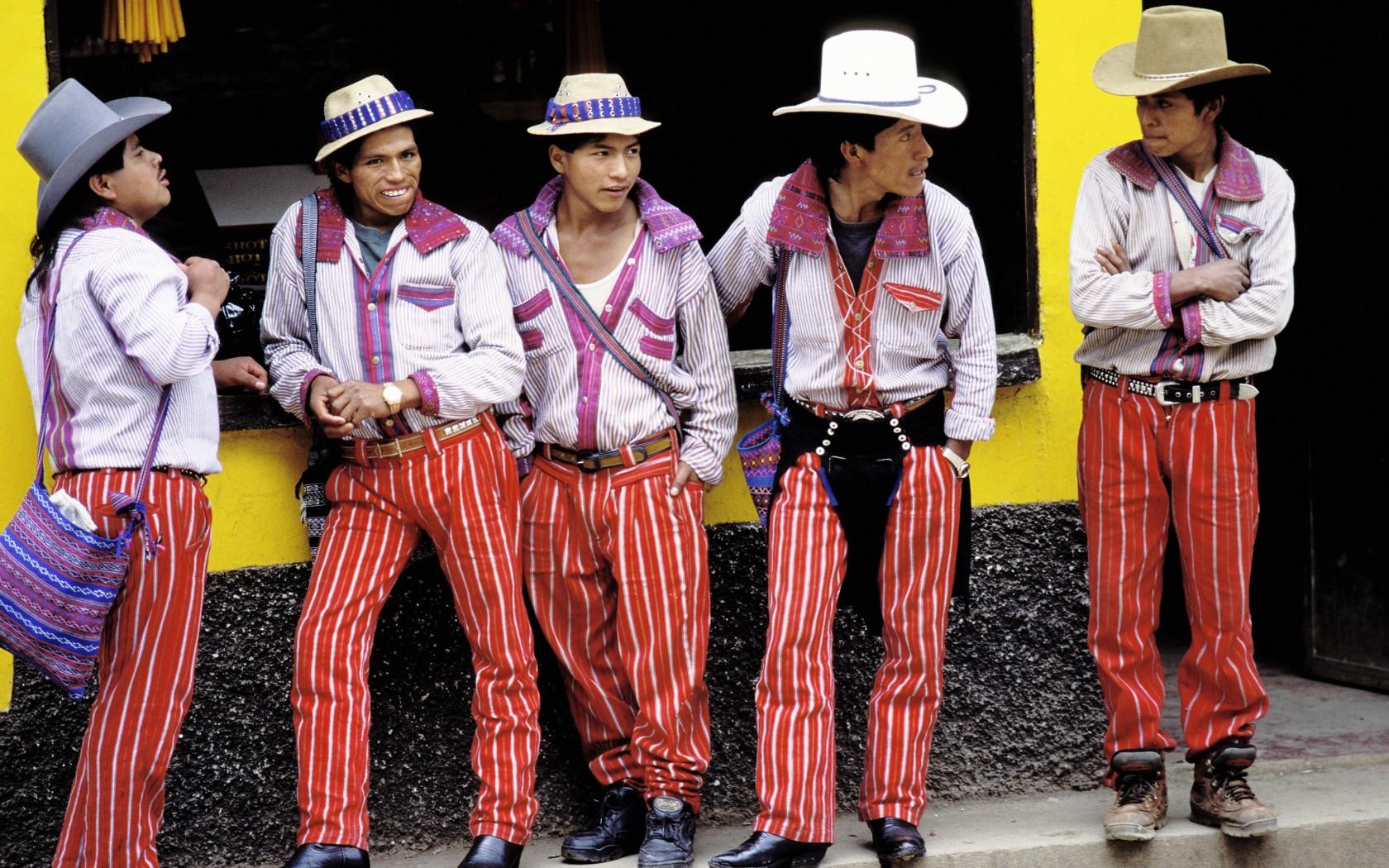 Guatemala General Information National Costume Dolls