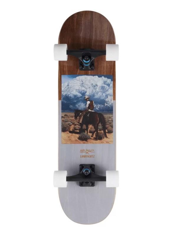 Landyachtz ATV Cowboy Skateboards longboard Skateboard Face
