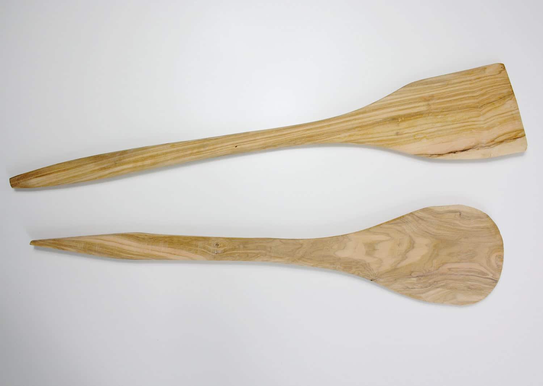 Löffel, aus Mandelbaumholz