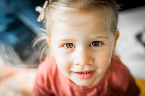 portrait petite fille beau regard