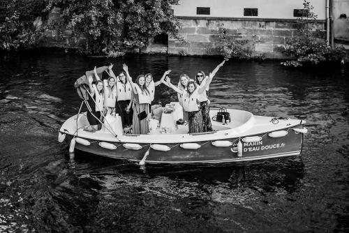 EVJF en bateau à Strasbourg