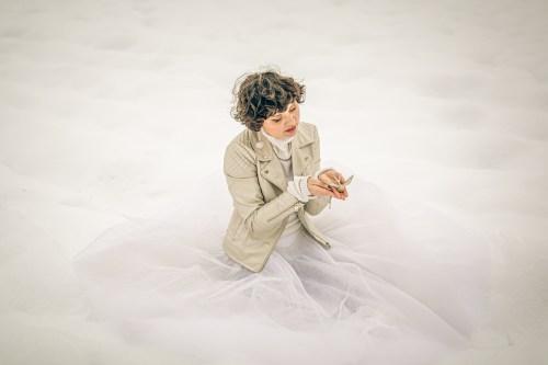 Neige en Alsace - Portrait Femme