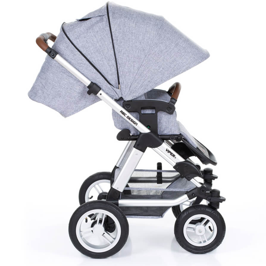 Abc Design Viper 4 Stroller With Carrycot Graphite Grey ddf74407c1