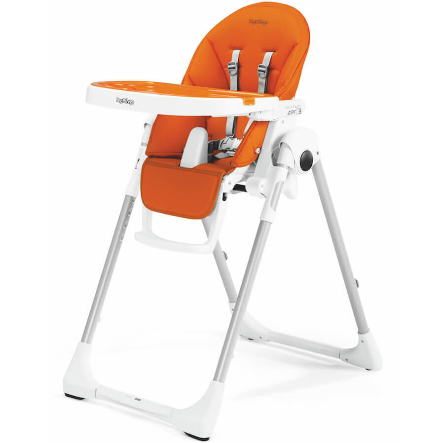Perego High Chair Peg Perego Prima Pappa Zero3 Arancia Imitation Leather High Chair Cradle And Chair