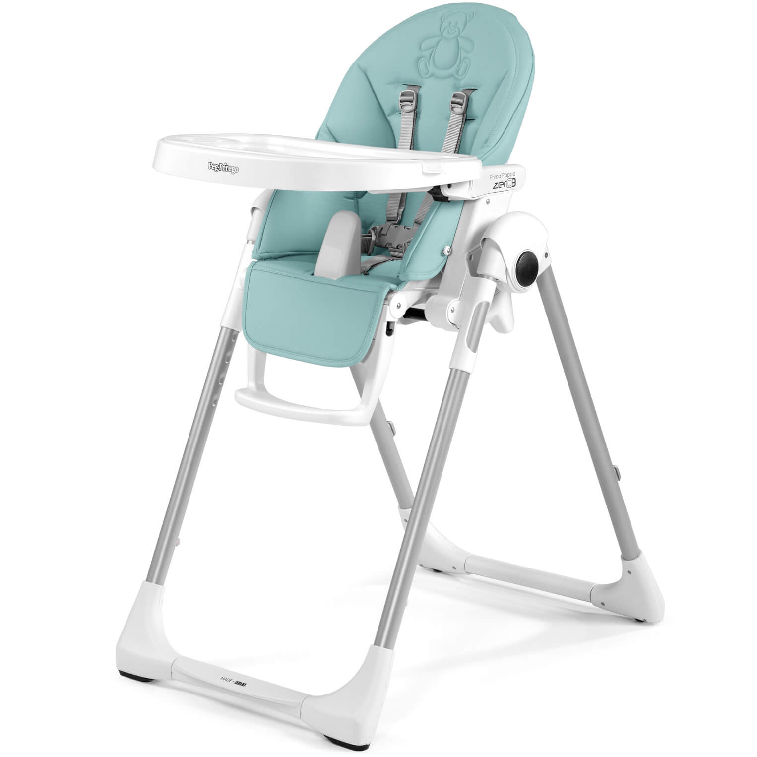 Perego High Chair Peg Perego Prima Pappa Zero3 Bear Azul Imitation Leather High Chair Cradle And Chair