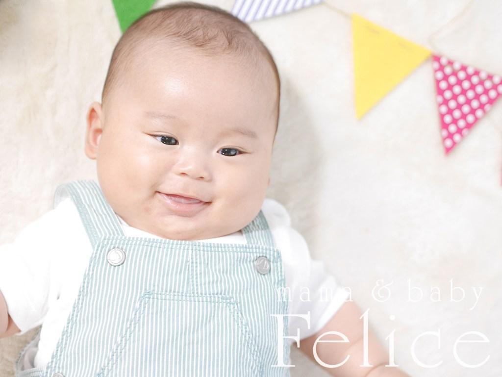 4か月男の子