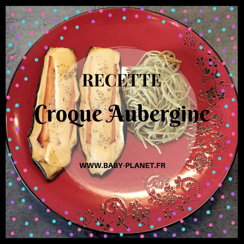 croque aubergine