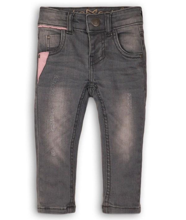 Spijkerbroekje Girls grijs