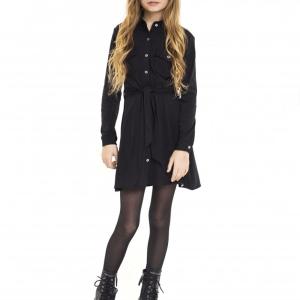 Jacky Luxury Meisjes jurk Traveller - Zwart