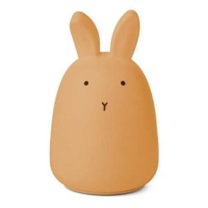 Liewood draadloos nachtlampje Winston   Rabbit Yellow Mellow