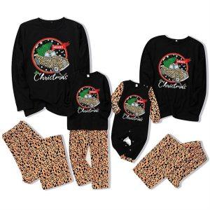 2020 Family Christmas Pajamas Set New Adult Baby Kids Homewear Dad Mom Boys Girls Cartoon Print Plaid Xmas Clothes Outfits
