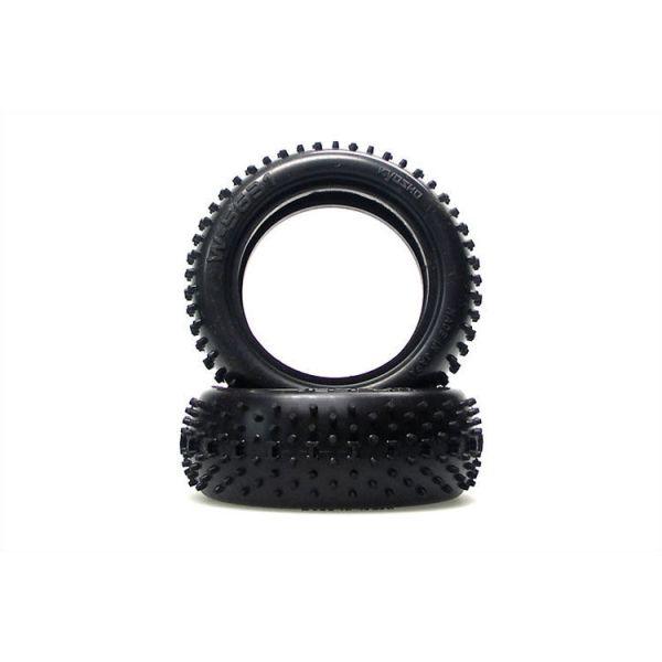Kyosho banden H-Pin, 32mm, voor 1/10 buggy, soft (2 stuks)